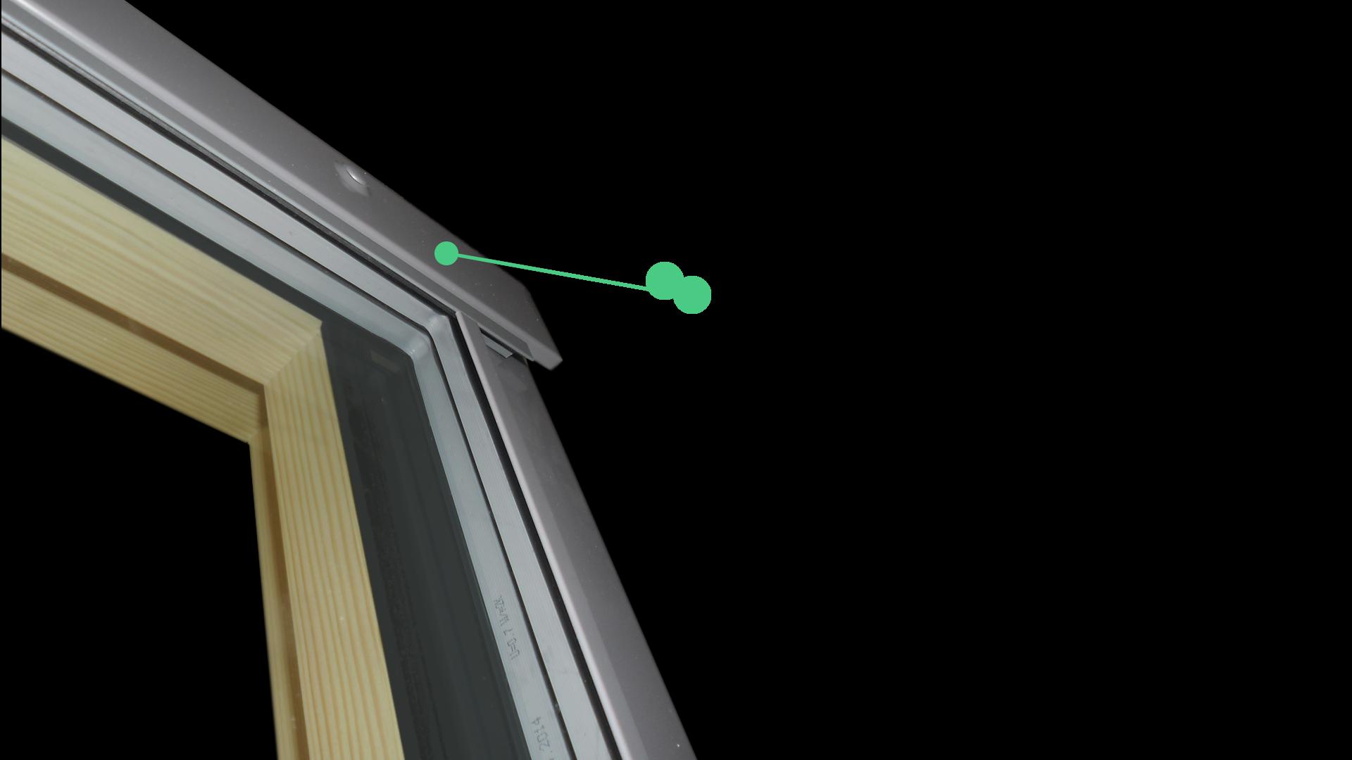Schindler Fa tetőtéri ablak.