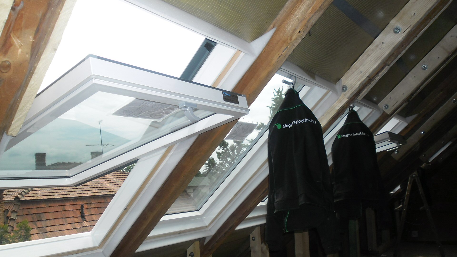 Tetőablakok beépítése